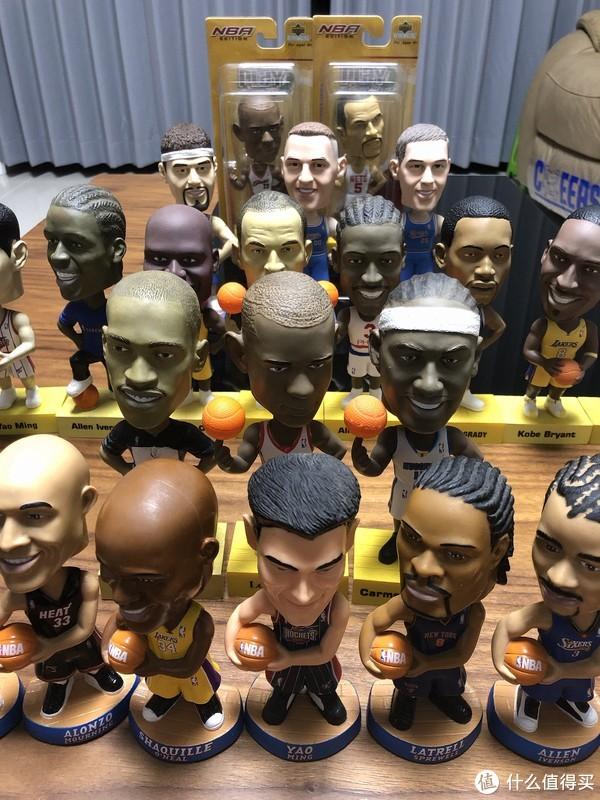 我的热血青春 NBA球星版摇头娃娃收藏
