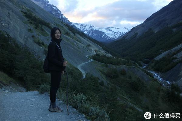 返回Torres del Paine (Central)营地的路上