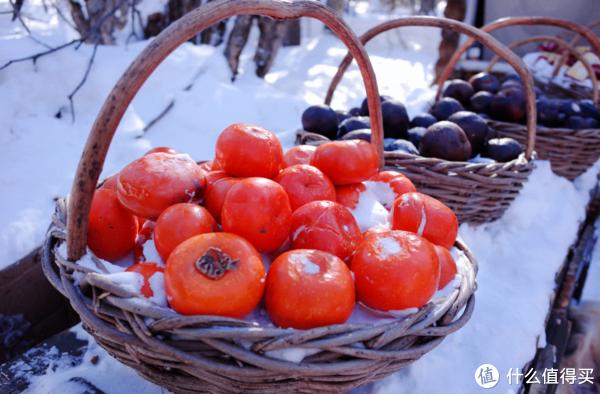 冻柿子,好吃,一定要尝尝