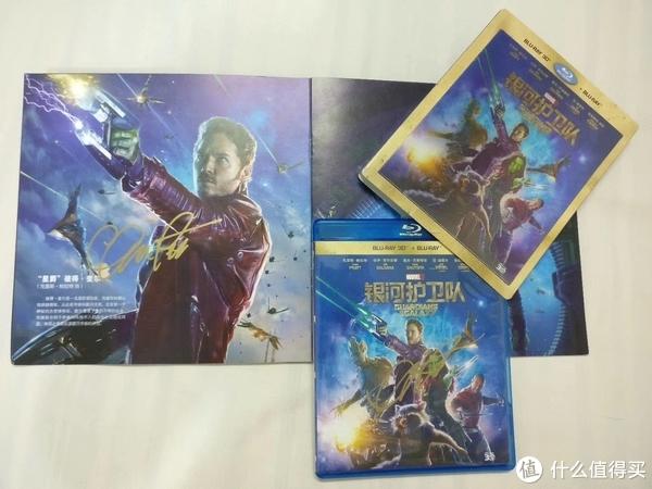 星爵Chris Pratt(《银河护卫队》官方媒体宣传册+3D蓝光)