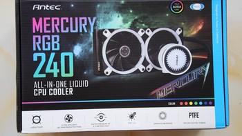 钛克 水星 240 CPU散热器包装设计(Logo 风扇)