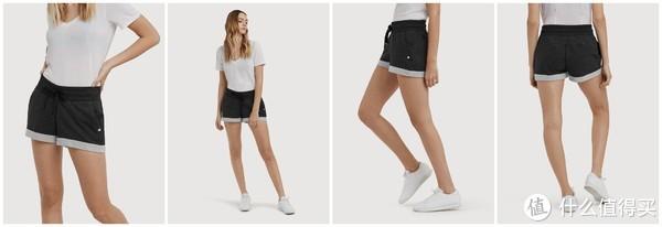 修身短裤(深灰)