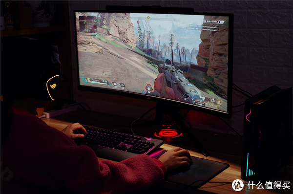 信仰光耀APEX英雄,ROG STRIX FLARE电竞机械键盘评测