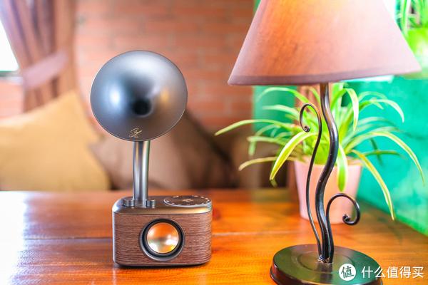 """极致复古""""留声机""""?这款山进肖邦收音机蓝牙音箱不仅用颜值征服你"""
