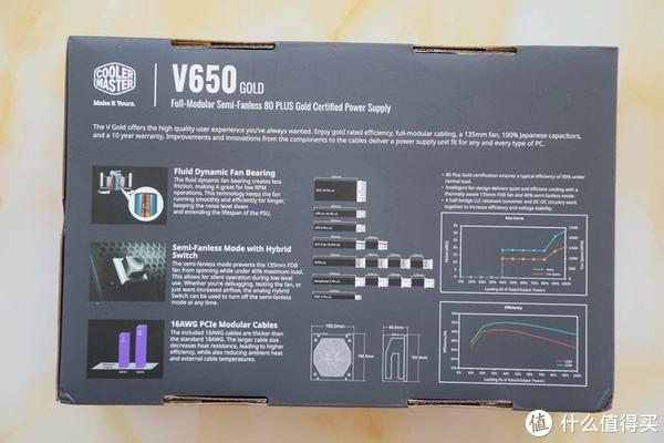酷冷至尊V650电源10年质保,安全稳定更可靠