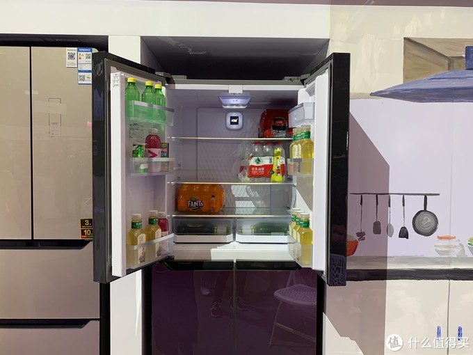 AWE2019:康佳冰洗亮点多 515mm 厚度冰箱小尺寸大容量