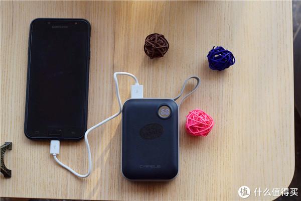 精准数显+智能闪充CPU,卡斐乐充电宝让充电从没如此简单