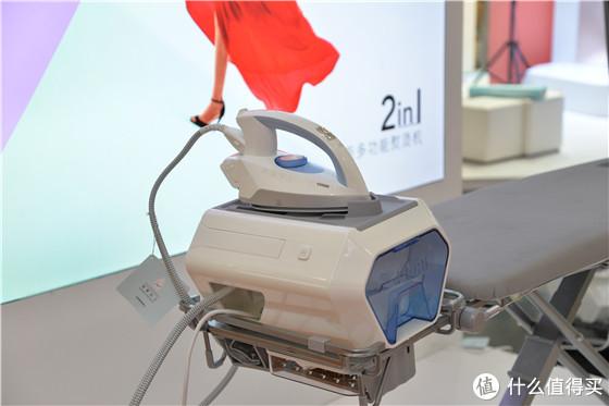 AWE2019丨引领生活风尚 卓立展示智能熨烫机与衣物护理柜