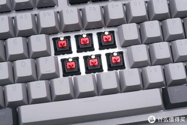 现在键盘都流行玩个性键帽了?杜伽K320深空灰白光限定版开箱