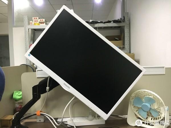 90度旋转没问题,可以做竖屏显示器用,显示器设置下竖屏即可
