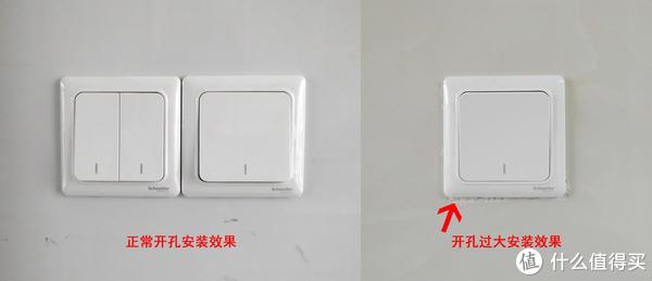 瓷砖开孔大小影响面板安装