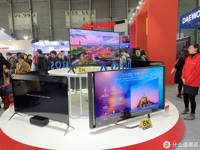 AWE2019:夏普全品类新品齐发,多款8K电视参展