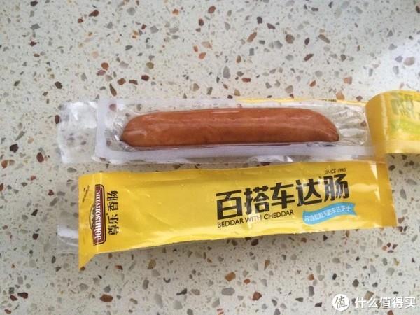 号称美国香肠第一品牌的尊乐车达肠。咱试试这美国香肠什么味道(不同)?!