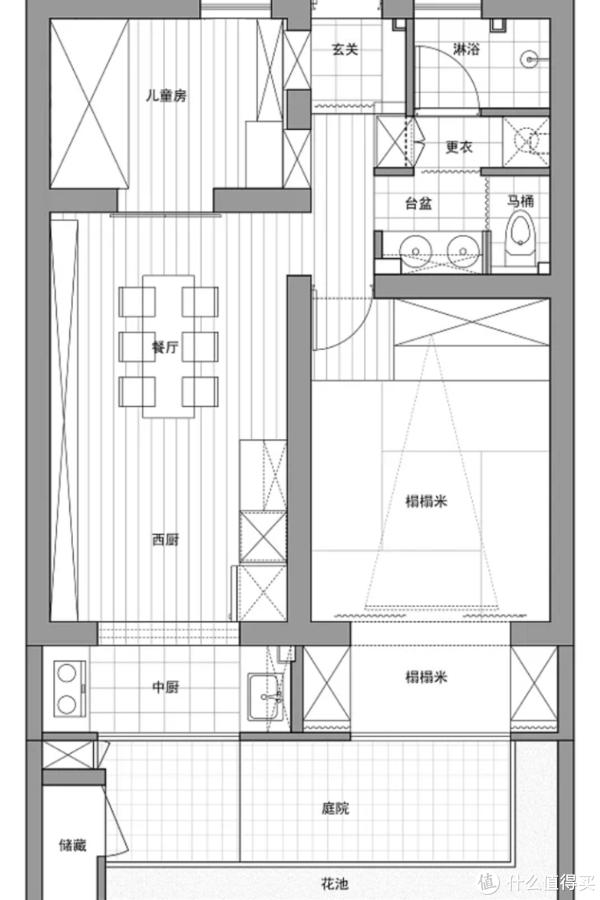 老旧小屋改造,3.5㎡卫生间做四分离,却一点也不显拥挤!