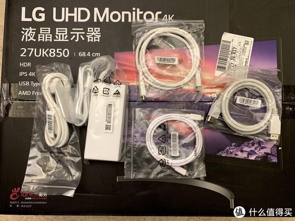 各种线送的很全,HDMI,DP,USB-C