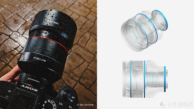 多位机械工程专家在镜头基本设计中所考虑的精密加工铝制机身仅有3处。Weather Sealing设计不放过任何微小的缝隙,切断外界环境的灰尘与湿气,有效保护。在室外拍摄时,无论处于何种环境,这种保护装置有助于捕捉每一个重要瞬间,提供对摄影的信任。