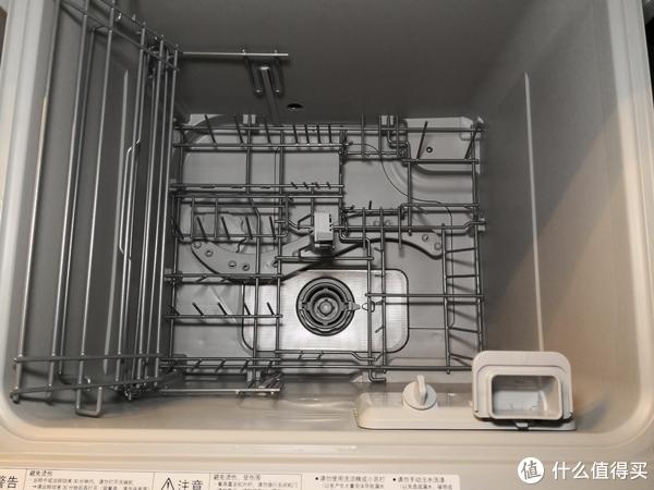 上层碗篮折叠状态