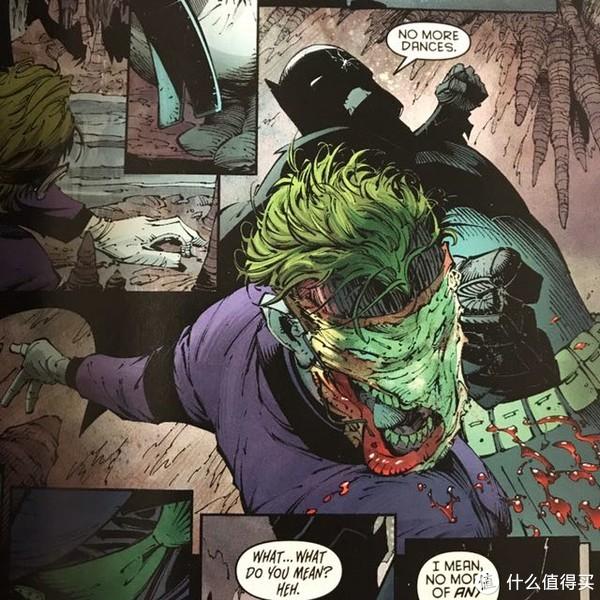DC蝙蝠侠漫画+小丑面具套装