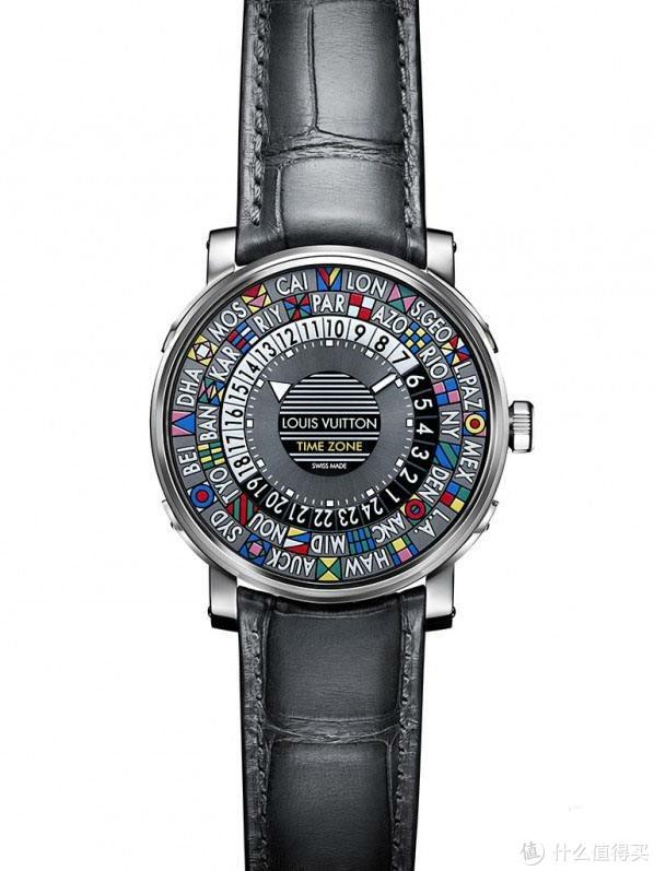 一只玩表的人看不懂的表-LV timezone玫瑰金版时尚表