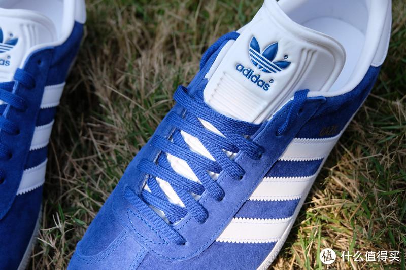 Adidas阿迪达斯 三叶草GAZELLE经典鞋S76227 试穿体验