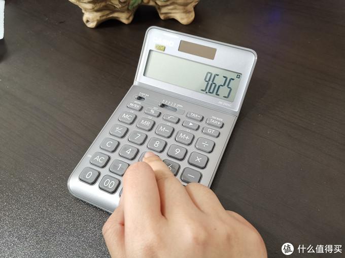 被它颜值所吸引:Casio卡西欧JW-200SC计算器 入手体验