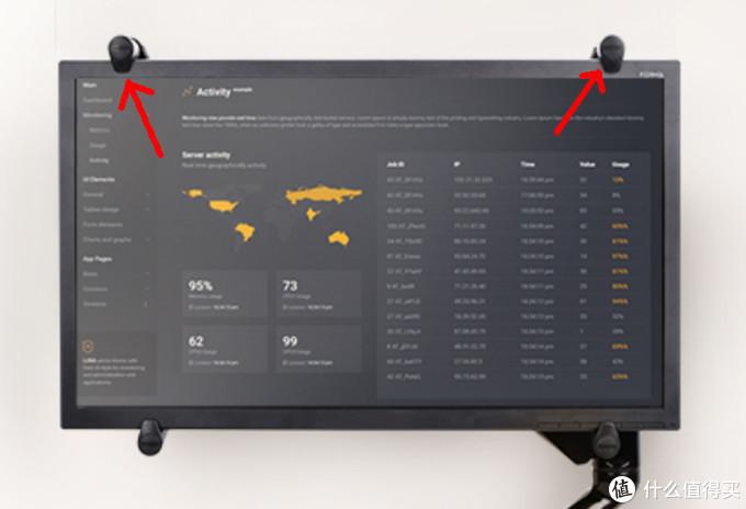 上面两个点会遮挡屏幕,而且还有可能损伤屏幕