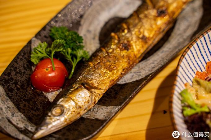烤秋刀鱼▲