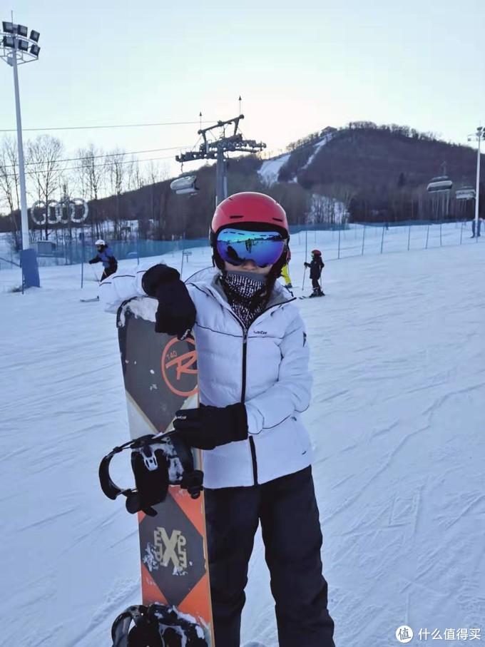 我的全套滑雪装备