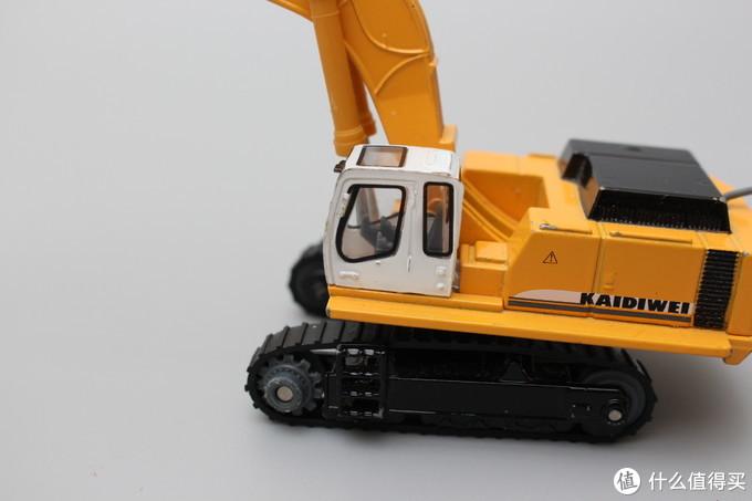 保存的比较完好的凯迪威工程破碎车玩具