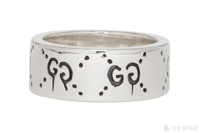 骷髅双眼:Gucci 全新「Gucci Ghost」银戒指上架