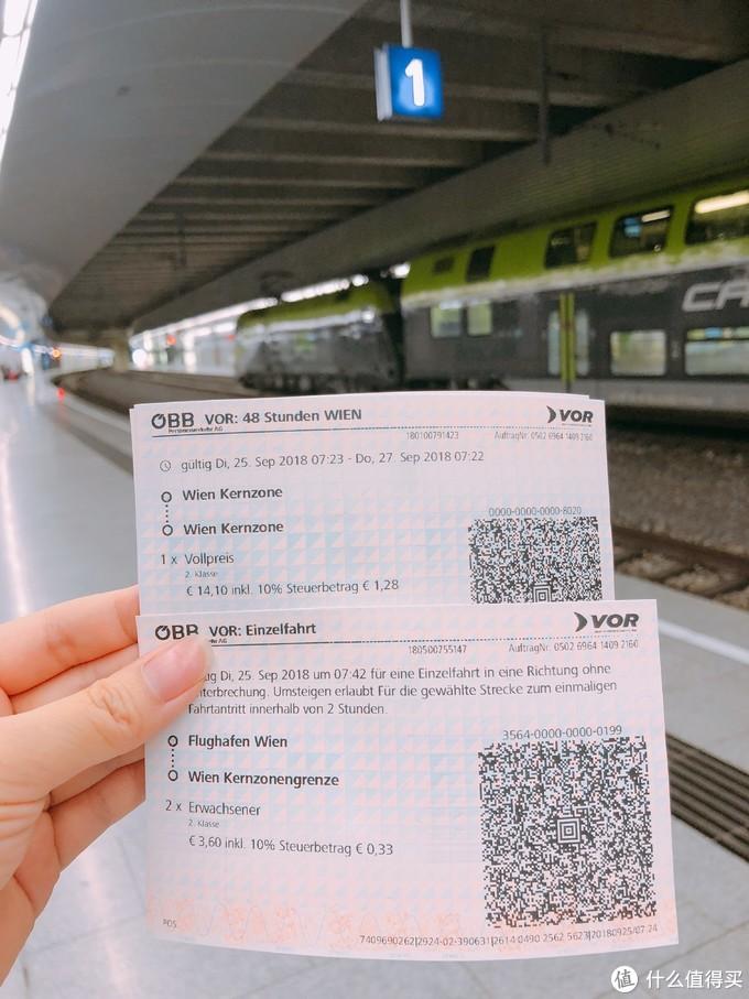 维也纳交通两日券(含进城费)