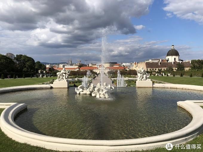 美景宫的喷泉