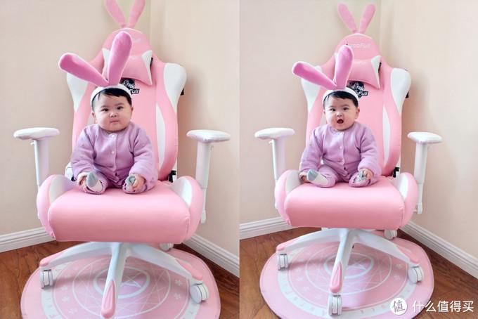 萌颜逆天,功能丰富,舒适度高—傲风 AF055PPUW 粉色雪兔电竞椅