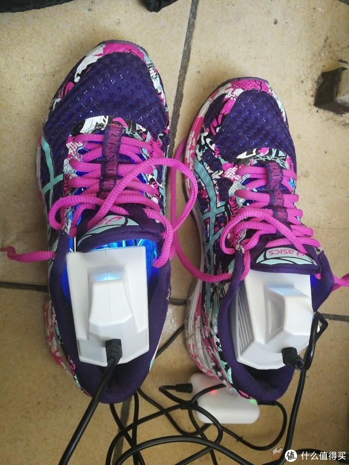 举铁少女的福音——UVSHOE运动鞋除味测评