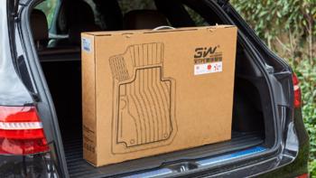 3W 全TPE汽车脚垫外观展示(毯面|设计|卡扣)