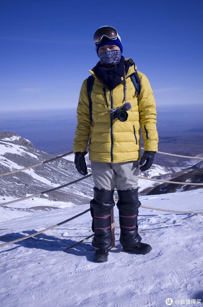 全套滑雪装,横行长白山