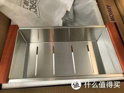 arrow箭牌 手工水槽304加厚不锈钢大双槽套餐洗菜盆台下台上洗碗池 A款轻奢版780*430mm(3.0mm)带龙头