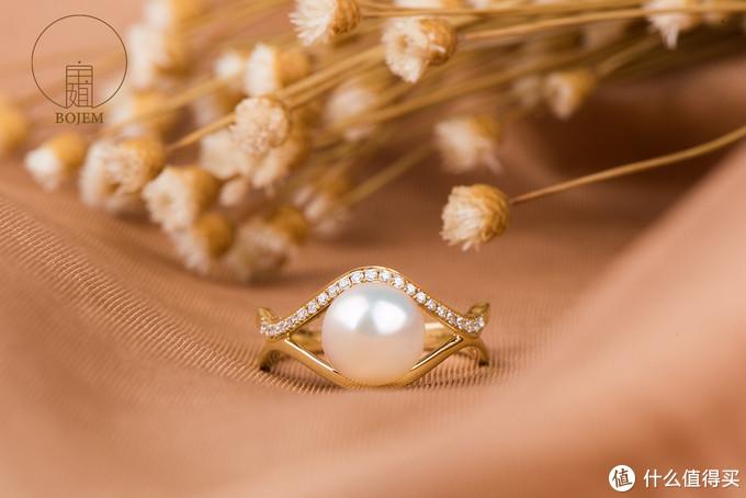 Akoya海水珍珠戒指