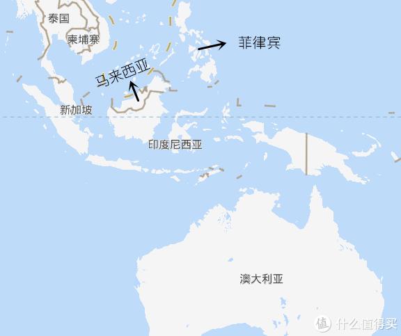 南洋地区地图