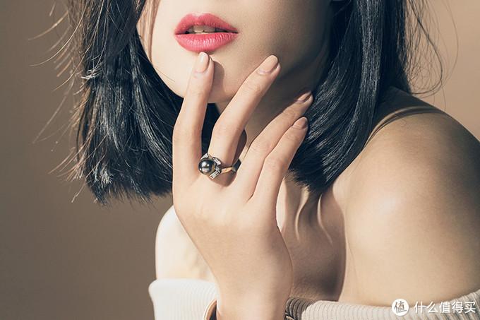大溪地黑珍珠戒指