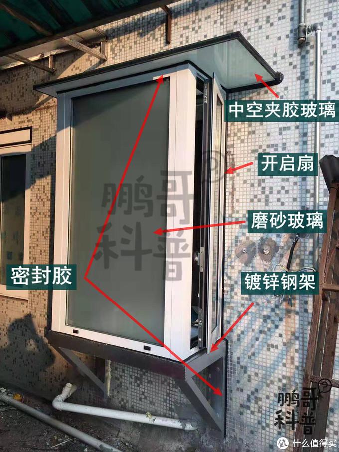老小区、小户型适用的绝妙门窗设计——自制窗台