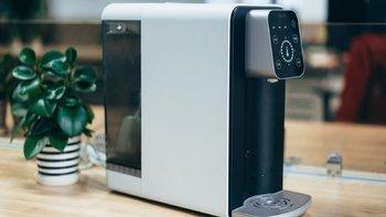 博乐宝RO反渗透净水器B04外观展示(储水箱|面板|滤芯|水位|水温)
