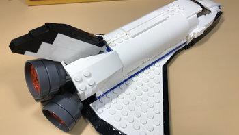 乐高 31066 航天飞机探险家使用总结(垂尾 驾驶室 卫星 宇航员)