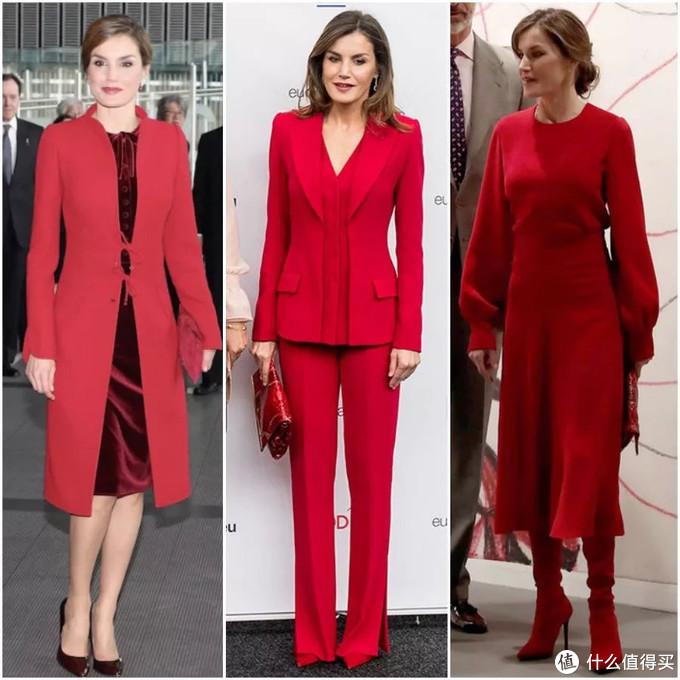 4组可以一键复制的配色,把红色穿出高级感!