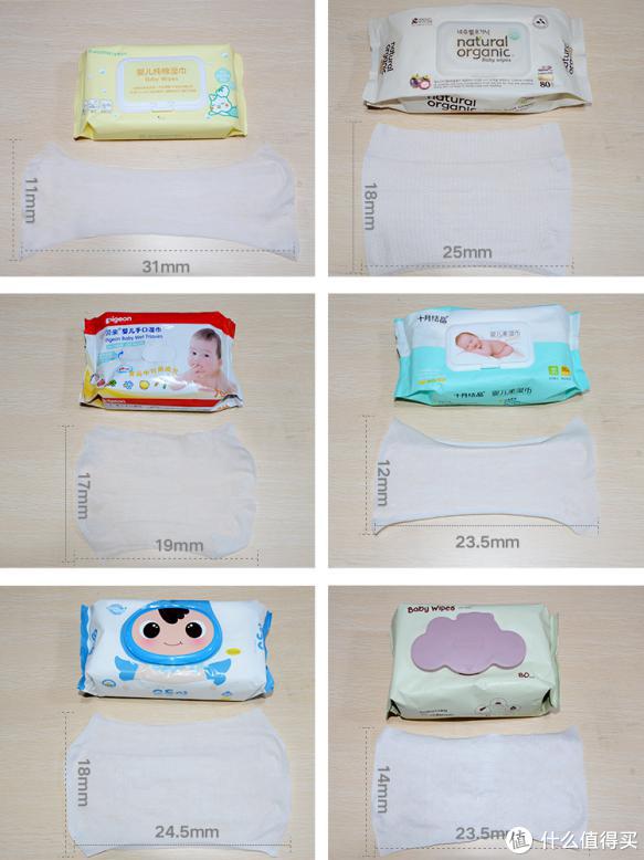 国内外常见六款婴儿湿巾使用评测