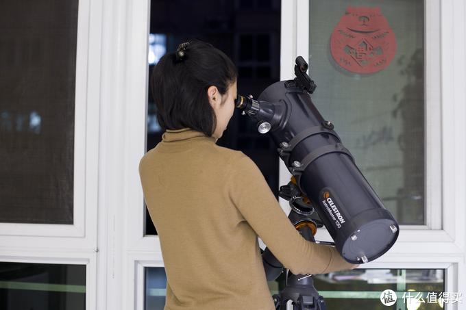 愿女儿的心胸如宇宙般宽广 - 星特朗 CELESTRON 130EQ天文望远镜晒单