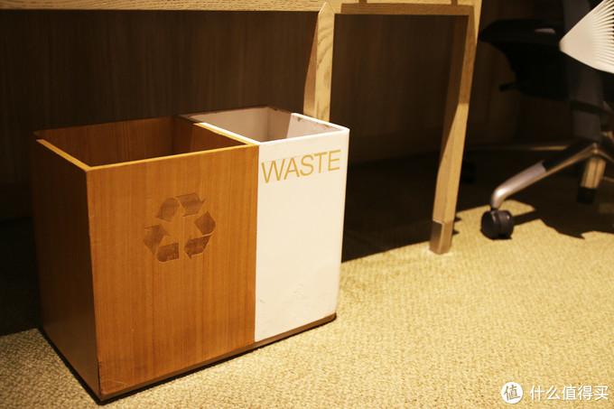 分类式的垃圾桶