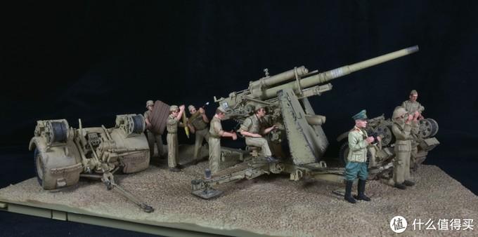 FOV 1:32 88炮成品模型开箱简晒