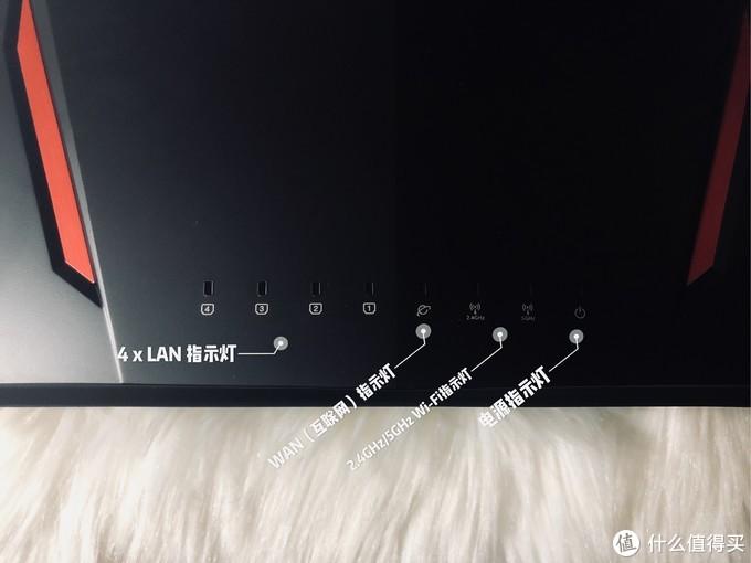 前面板指示灯功能