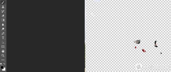黑色为前景色